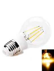 4W E26/E27 Ampoules Globe LED 4 SMD 380-400 lm Blanc Chaud Décorative AC 100-240 V