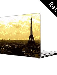 """Paris Eiffel Tower Design Full-Body Protective Plastic Case for 13""""/15"""" MacBook-Pro with Retina Display"""