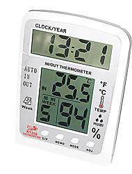 Electronic Thermometer with Probe Indoor & Outdoor