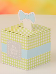 Bowknot Nets Design Favor Box-Set of 12(More Colors)