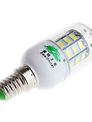 zweihnder e14 6w 600lm 6500k 30 x SMD 5730 lampada led luce bianca luce del cereale (220V AC)