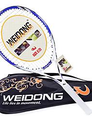 weidong oscuro fibra raqueta de tenis azul de carbono