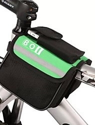 Bike Bag 8LBike Frame Bag Waterproof / Reflective Strip Bicycle Bag Polyester Cycle Bag Cycling/Bike 15*11.5*12