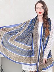 algodão mercerizado longa coreano moda lenço das mulheres