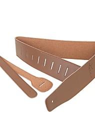 Родина бренда высококачественного прочного коричневая кожа гитара ремешок GS-09