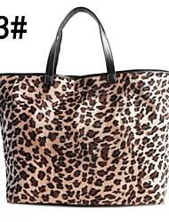 dama da moda grande grande sensuais bolsas leopardo Saco de compras das mulheres