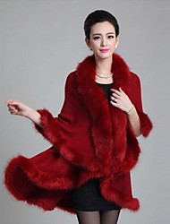 Women's Faux Fox Fur Shawls & Wraps (More Colors)