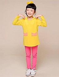 Children's Clothing Brand Children's Clothing Korean Children Cotton Bow Long-sleeved t-Shirt for Girls