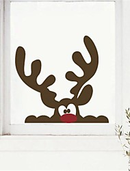 JiuBai® Christmas Reindeer Wall Sticker Wall Decal, 40*38