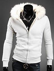Kingdom Men's Hoodie Sheath Short Coats