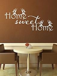JiuBai® Sweet Home Quote Wall Sticker Wall Decal