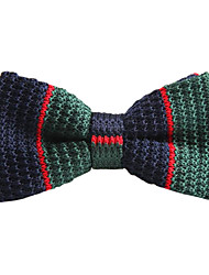 Unisex Vintage / Party / Work / Casual Bow Tie,Knitwear Striped All Seasons