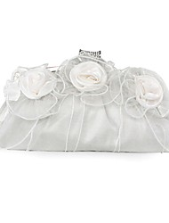 Silk Wedding / Special Occasion Clutches / Evening Handbags with Flowers (More Colors)