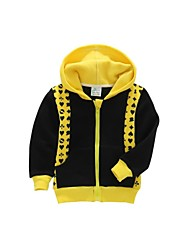 Boy's Cotton / Cotton Blend Jacket & Coat,Winter / Spring / Fall Print