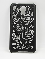 Hollow Out Pattern Of Roses Net Plastic Back Cover for Samsung Galaxy S5 I9600 (Assorted Color)