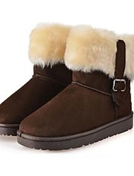 Damenschuhe Schneeschuhe flachem Absatz Stiefeletten weitere Farben erhältlich