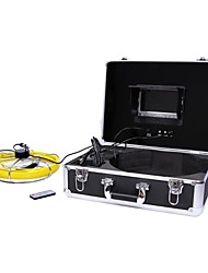 "20M Sewer Waterproof Detection Camera 7""LCD Drain Pipe Pipeline Inspection System"