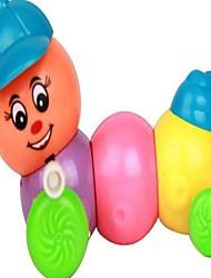 brinquedos de corda chapéu lagarta (cor aleatória)