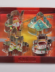 Stainless Steel Christmas Suit Cookies Mode / Cookies Mould