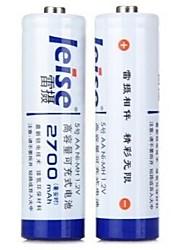 bateria Ni-MH 1.2v 2700mAh recarregável aa leise® 2pcs