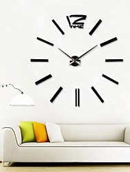 "39 ""W DIY 3D наклейки настенные часы"