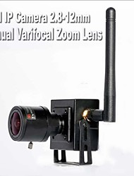 2.8-12mm Manual Varifocal Zoom Lens 720P 1.0MP HD Hidden Wireless WIFI Mini IP Camera ONVIF Smallest Wifi Ip Camera