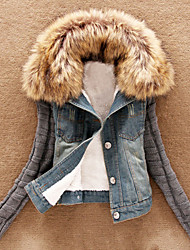 Women's Coats & Jackets , Faux Fur Casual Vera