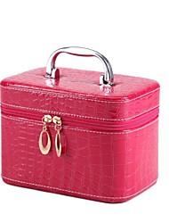 Women's Fashion Candy Portable Cosmetic Pebble Pattern Makeup Bag