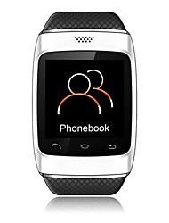 S12 1.54 inch Smart Bluetooth Sync Watch With FM,Calls,Phonebook,Music for iPhone/Android Phone