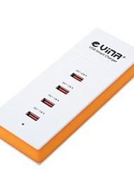 vina ups-001 adaptador de energia 5a segurança inteligente de alta velocidade com 4 portas USB (plug UE)