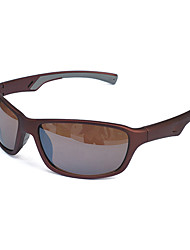 Sunglasses Men / Women / Unisex's Classic / Sports / Fashion Rectangle Brown Sunglasses / Sports Full-Rim