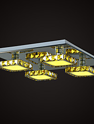 Ceiling Lamps , 4 Light , Simple Modern Crystal MS-86358