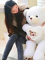 (35,4 pouces) assez i vous aime coeur Peluche remplissage cadeau pp coton