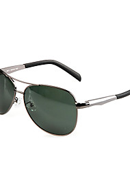 Sunglasses Men's Classic / Lightweight / Retro/Vintage / Sports / Aviator / Polarized Flyer Dark Gray Sunglasses / Driving Full-Rim