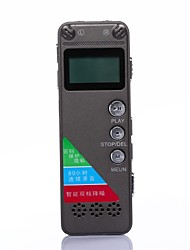 8GB Professional High-definition Digital Voice Recorder Stereo Dictaphone with Mp3 and Storage