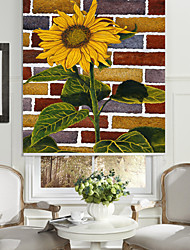 Beautiful Sunflower Roller Sahde