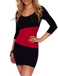 clubwear de mode mini-fête de la robe des femmes
