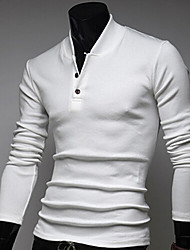 Stand Collar Knitwear Polo
