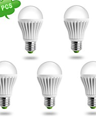 5 pcs DUXLITE E26/E27 10 W 1 COB 980 LM Warm White A LED Filament Lamps AC 85-265 V