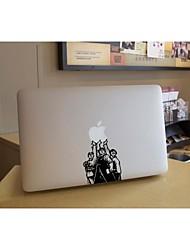 SkinAT amovible bricolage drôle mignon force de comprimé de l'unité et l'autocollant d'ordinateur portable pour vous et MacBook Air comprimé 135 *