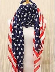 american flag foulard des femmes