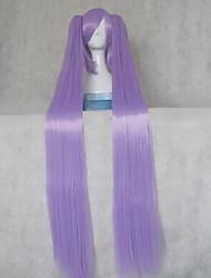 VOCALOID  Miku Purple Straight Cosplay Wig