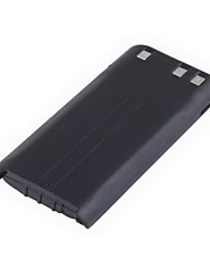 KNB-29N 7.2V/1500mAh Batterie pour Kenwood Talkie Walkie - Noir