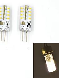 Luces LED de Doble Pin G4 2W 32 SMD 3014 100~120 LM Blanco Cálido / Blanco Fresco V