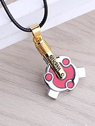 Naruto Madara Uchiha Sharingan Alloy Pendant Cosplay Necklace