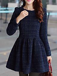 mokio vrouwen Koreaanse mode causale slanke wollen jas