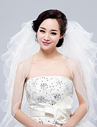 acessórios do casamento roupa do casamento artesanais elegantes noivas véus 5 tiers lantejoulas enfeites 1,5 longa