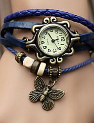 la mode huashi montre bracelet vintage