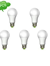 Ampoules Globe Gradable Blanc Froid DUXLITE 5 pièces A E26/E27 11 W 1 COB 1050 LM 6000 K AC 100-240 V