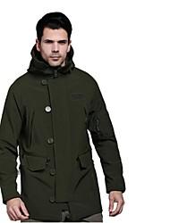 ESDY Soft Shell Fleece Lining Hooded Windbreaker N-3b Warm Wind Coat
